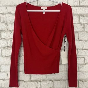 NWT Leith Red Sweater